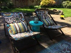Wood Deck Chairs   Do It Yourself Home Projects from Ana White