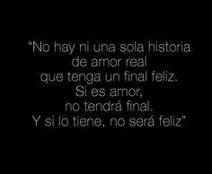 no hay final en el amor