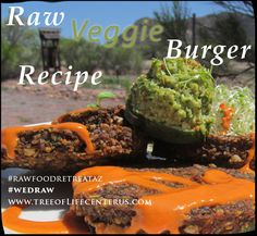 This raw food recipe is served at our raw food retreats in Patagonia, Arizona. The recipe is diabetic-friendly, vegan, raw and very tasty.