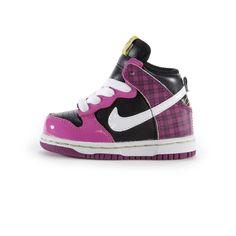 :D Basket bébé fille et garçon Dunk High, Nike
