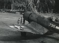 Chance-Vought F4U-1 de la fameuse VMF-214 Blacksheep squadron