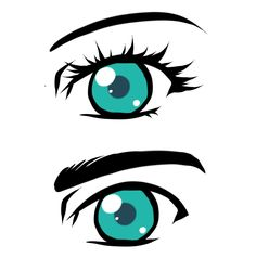 How To Draw A Anime Eyes For Beginners