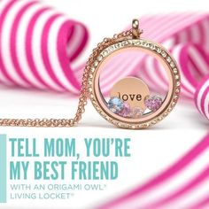 Origami Owl Mothers Day Gold Love Heart Locket  www.owllockets.com