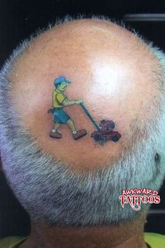 Lawn Mower Tattoo