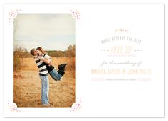 save the date cards - Darling by Sincerely Jackie