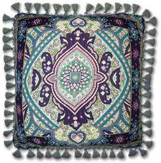 Paradise Garden Art Tapestry Pillow