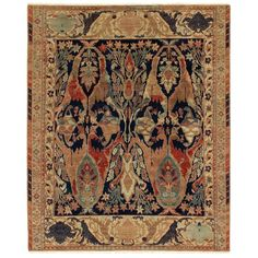 Shop for Exquisite Rugs Empire Beige / Multi New Zealand Wool Rug - x Get free delivery On EVERYTHING* Overstock - Your Online Home Decor Store! Persian Carpet, Persian Rug, Carpet Runner, Modern Rugs, Cool Rugs, Traditional Design, Comforter Sets, Duvet Cover Sets, Rugs On Carpet