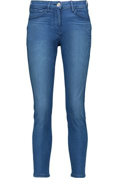 3X1 W2.5 Crop pencil mid-rise skinny jeans. #3x1 #cloth #jeans
