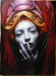 "Maria Kreyn - ""Red Headdress"""