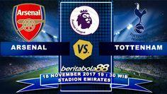 Prediksi Bola Arsenal vs Tottenham Hotspur 18 November 2017 Liga Inggris