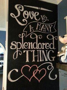 Valentine Chalkboard Art - Yahoo Image Search Results