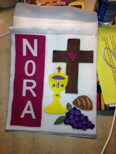 Nora's Banner for First Holy Communion