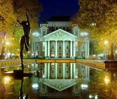 National Theatre, Sofia, Bulgaria  It was an amazing night!