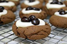 Coffee and Cream Cookies ~ The Starving Chef