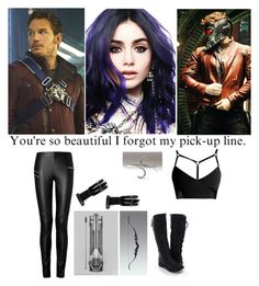 """""""I Forgot My Pick-Up Line - Guardians Of The Galaxy - Star Lord"""" by alyssaclair-winchester ❤ liked on Polyvore featuring мода, Joseph, marvel, guardiansofthegalaxy, peterquill, Starlord и GotG"""