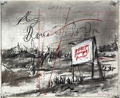 """William Kentridge, Drawing for """"Other Faces,"""" 2011"""