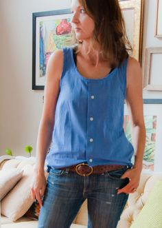 """A fun little easy project to share. This was in my head for a while and finally came to fruition. A few months ago my husband put a pile of button-down shirts in the """"take to goodwill"""" pile. I pulledREAD MORE"""