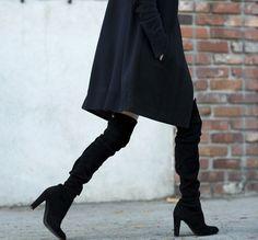 Style - Minimal + Classic : #overthekneeboots on @ALWAYSJUDGING . . . #bloggerswelove