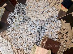 Doily crochet, La Lita Art&Craft, Bogor -Indonesia Doilies Crochet, Bogor, Arts And Crafts, Crochet Doilies, Art And Craft, Art Crafts, Crafting