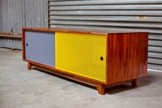 Each piece handmade by Ian Rouse. Sideboard Cabinet, Credenza, Furniture, Dining, Storage, Wood, Handmade, Chevron, Cabinets