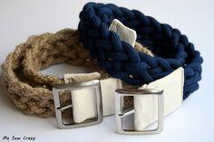ceinture en tricotin