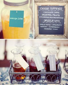 Pancake bar...have to do a brunch like this!