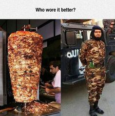 Funny memes Isis commander is being mocked because he looks like a kebab. Funny Facts, Funny Memes, Funny Quotes, Funny Baby Images, Justin Bieber Jokes, Indian Funny, Best Funny Photos, Funny Dog Videos, Humor Videos
