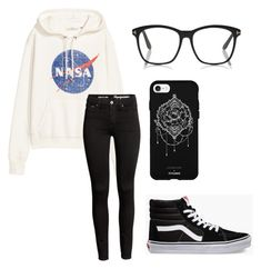 """""""Fun"""" by fangirlmendes on Polyvore featuring Vans and Fifth & Ninth"""