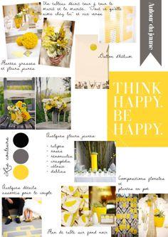 carnet d'inspiration {autour du jaune} | la mariee aux pieds nus