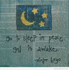 Sleep quote Victor Hugo quotes