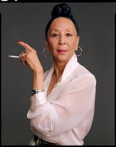 """Beauty opens doors but you'd better be ready to dance right through"" China Machado......ageless beauty at 82!"