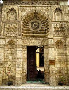 Mezquita de al-Aqmar. El Cairo (Egipto), siglo XII.