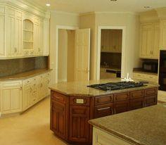 DIY White Wash Cabinets