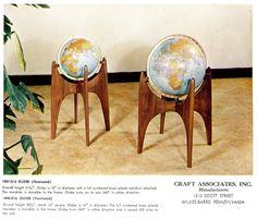 do want. mid century globe. perfection
