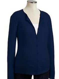 Old Navy Maternity Blue Cardigan $18