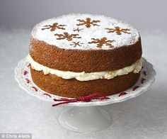 Mary Berry's whole orange spice cake. Yum. Mine's in the oven now :)