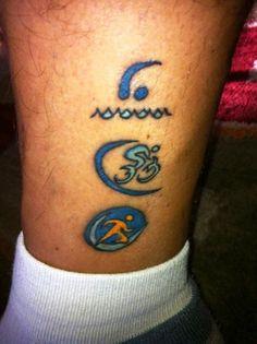 Another triathlon tattoo...