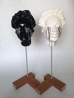 Black tears, white tears. Sculptures against racism (scheduled via http://www.tailwindapp.com?utm_source=pinterest&utm_medium=twpin&utm_content=post140616181&utm_campaign=scheduler_attribution)