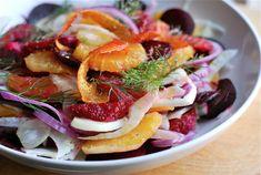 Fennel, Beet and Blood Orange Salad