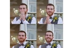 Someone will have to take a picture of the groom's reaction.  I am still beyond sad that no one did at Bethany's wedding =(