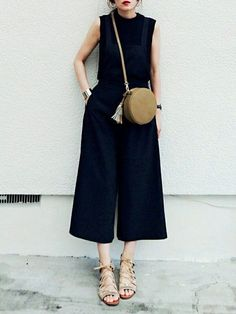 3a41f5da2a jumpsuit Kényelmes Ruhák, Aranyos Ruhák, Street Style, Minimalista Divat,  Japán Divat,