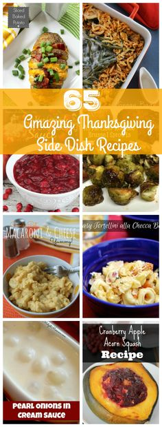 Thanksgiving Dinner Side Dish Recipes. Amazing Thanksgiving Dinner Side Dish Recipes that will give you a delicious meal for thanksgiving.
