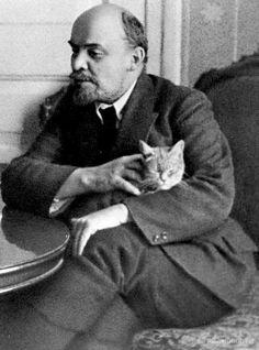 Lenin's cat Retronau