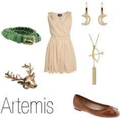 Artemis the God of hunting inspired outfit (percy jackson)...to be honest I don't like these books but I love this outfit