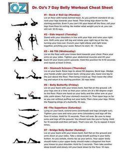 Dr oz flat belly workout