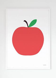 Apple Print for your wall