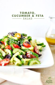 Easy summer salad is the perfect side for any event.