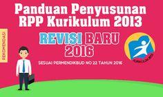 Panduan Penyusunan RPP Kurikulum 2013 Format Revisi Terbaru sesuai Permendikbud No 22 Tahun 2016 Diy And Crafts, Education, Teaching, Onderwijs, Learning