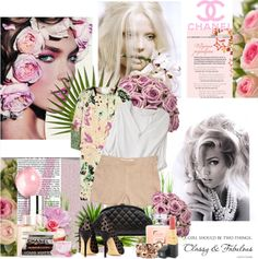 """""""pink chanel"""" by deebenzdee on Polyvore"""