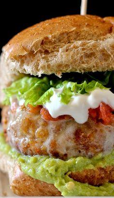 Taco Turkey Burger